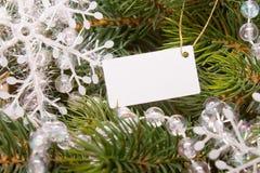 圣诞节装饰新年度 免版税库存照片