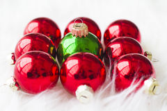圣诞节装饰新年度 图库摄影