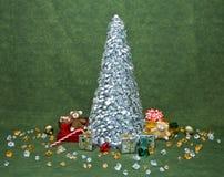 圣诞节装饰早晨场面 库存照片