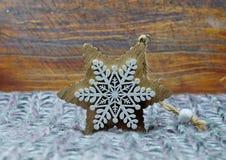 圣诞节装饰星形 库存图片