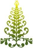 圣诞节装饰物结构树 免版税库存照片