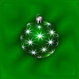 圣诞节装饰球的传染媒介例证 库存图片