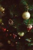 圣诞节装饰球 免版税图库摄影