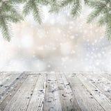 圣诞节装饰生态学木 库存图片
