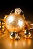 圣诞节装饰的特殊性。 库存照片