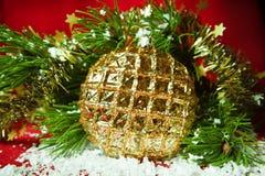 圣诞节装饰的特殊性。 免版税库存图片