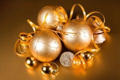 圣诞节装饰的特殊性 免版税库存照片