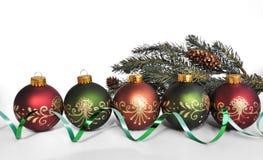 圣诞节装饰的节假日 免版税库存照片