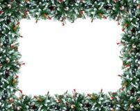 圣诞节装饰结构树 库存图片