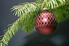 圣诞节装饰节假日结构树 图库摄影