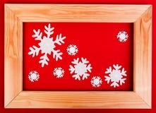 圣诞节装饰花梢闪烁葡萄主题 免版税库存照片