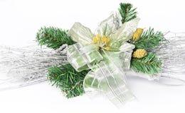 圣诞节装饰花零件 库存图片