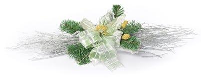 圣诞节装饰花 库存照片