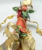 圣诞节装饰藤茎树干 免版税图库摄影