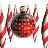 圣诞节装饰装饰品 向量例证