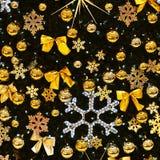 圣诞节装饰装饰新家庭想法 与圣诞树的抽象五颜六色的背景 库存照片
