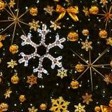圣诞节装饰装饰新家庭想法 与圣诞树的抽象五颜六色的背景 图库摄影