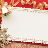 圣诞节装饰装饰新家庭想法 背景几何老装饰品纸张葡萄酒 图库摄影