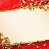 圣诞节装饰装饰新家庭想法 背景几何老装饰品纸张葡萄酒 免版税图库摄影