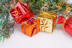 圣诞节装饰装饰新家庭想法 图库摄影