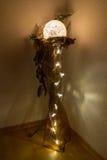 圣诞节装饰装饰新家庭想法 免版税图库摄影