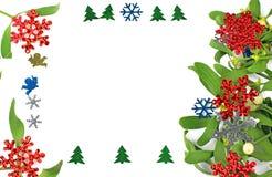 圣诞节装饰装饰新家庭想法 库存图片