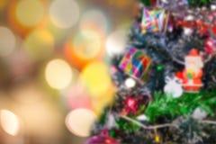 圣诞节装饰装饰新家庭想法 免版税库存照片