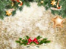 圣诞节装饰装饰新家庭想法 10 eps 免版税库存照片