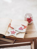 圣诞节装饰详细资料新家庭想法 免版税库存图片