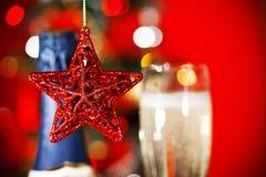 圣诞节装饰重点 库存照片