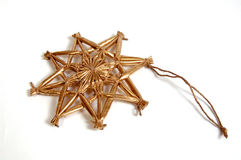 圣诞节装饰金子 库存图片