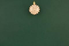 圣诞节装饰金星期日 免版税库存照片