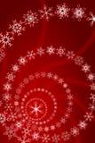 圣诞节装饰雪花 库存例证