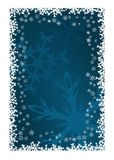 圣诞节装饰雪花 皇族释放例证