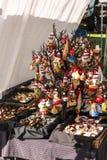 圣诞节装饰,毛伊,夏威夷 库存图片