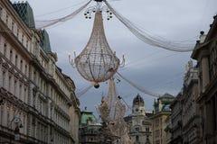 圣诞节装饰维也纳 库存照片