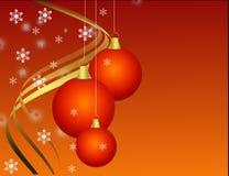 圣诞节装饰 皇族释放例证