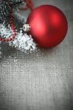 2圣诞节装饰 免版税库存照片