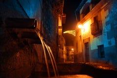 圣诞节西班牙语村庄 免版税库存图片