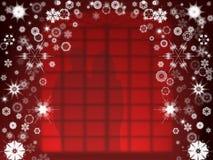 圣诞节视窗 图库摄影