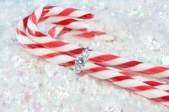 圣诞节订婚 免版税库存图片