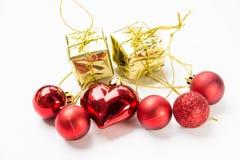 圣诞节设备为庆祝背景 库存照片