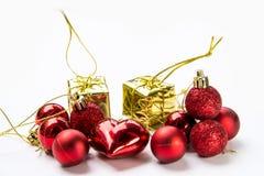 圣诞节设备为庆祝背景 图库摄影