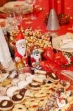 圣诞节设置表 库存图片