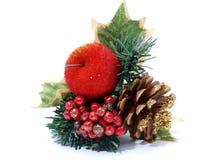 圣诞节设计红色 免版税库存图片