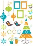 圣诞节设计要素 免版税库存图片