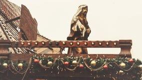 圣诞节诞生在布里斯托尔 免版税库存照片