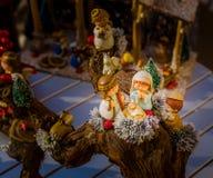 圣诞节诞生场面的生动的颜色 免版税库存照片
