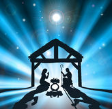 圣诞节诞生 免版税图库摄影