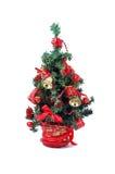 圣诞节详细资料结构树 库存照片